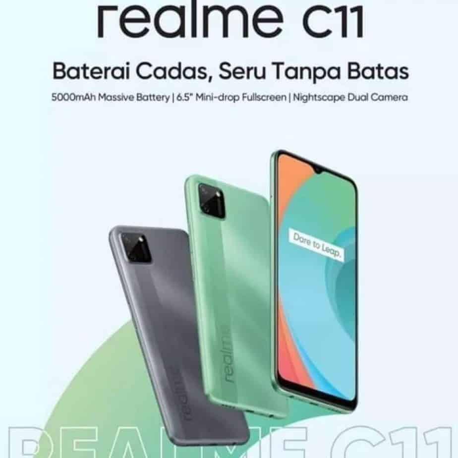 Spesifikasi Realme C11