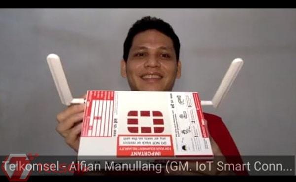 Solusi IoT dari Telkomsel Bantu Transformasi Digital Alfamart