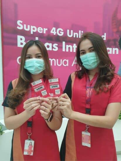 eSIM Smartfren Samsung
