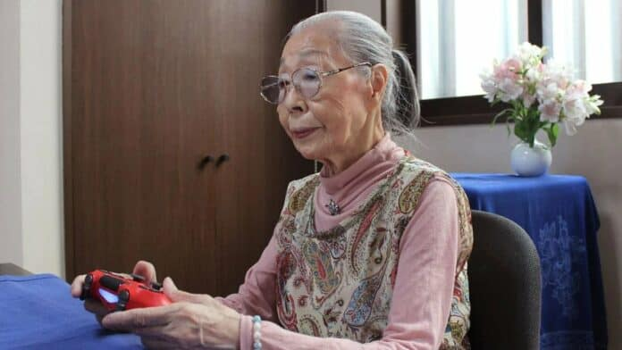 gamer grandma GTA V