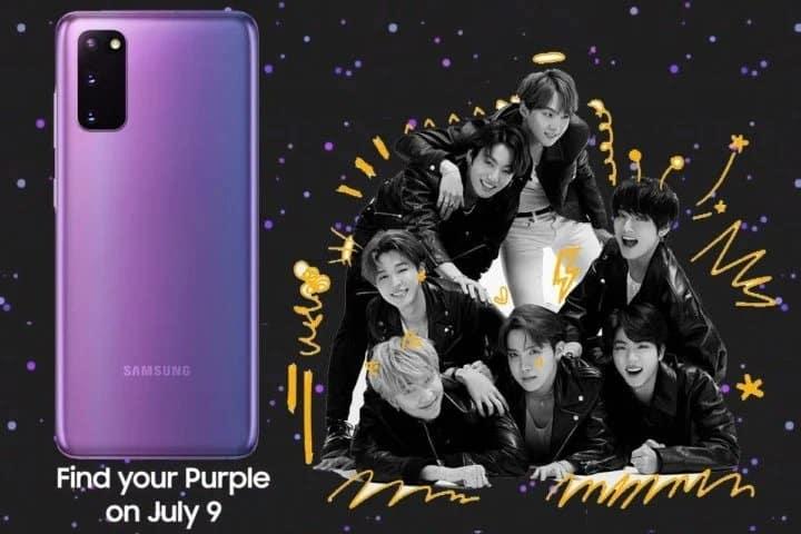 Yeayy! Samsung Segera Rilis Galaxy S20 BTS Edition