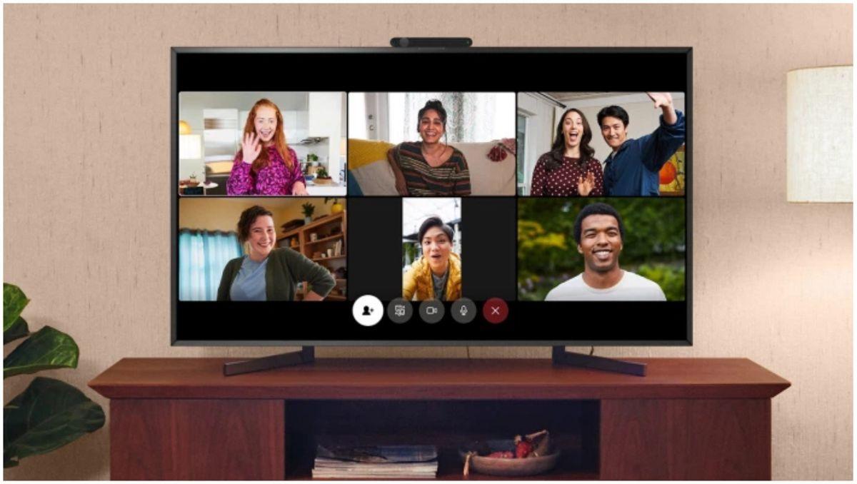 Video call Facebook Portal
