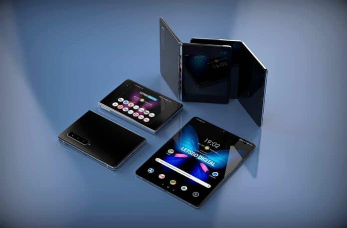 Pelindung layar smartphone lipat
