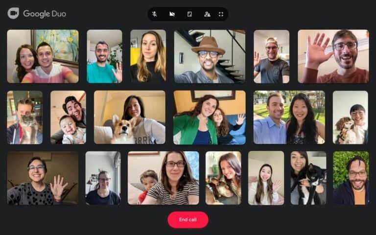 Yeayy! Google Duo Desktop Bisa Video Call Hingga 32 Orang