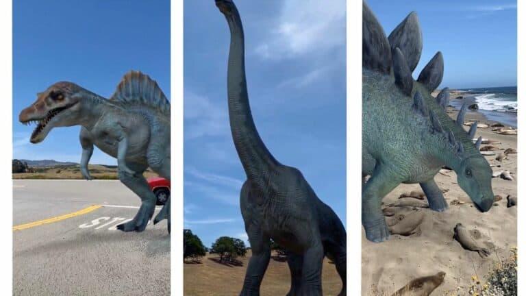 Google Bawa Dinosaurus ke Dunia Nyata via AR