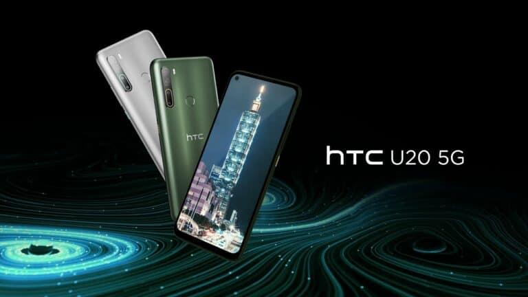 HTC U20 5G: Ponsel 'Comeback' HTC di Segmen Menengah