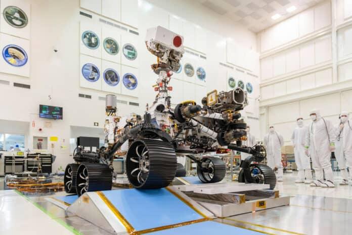 Robot Mars NASA