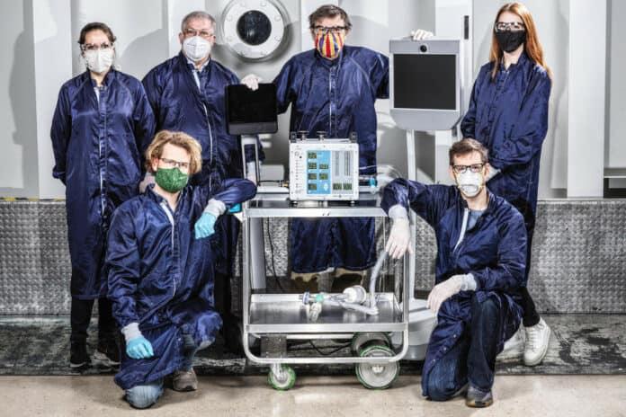 Ventilator NASA pasien Covid-19
