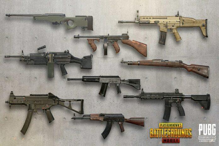 senjata paling jelek pubg