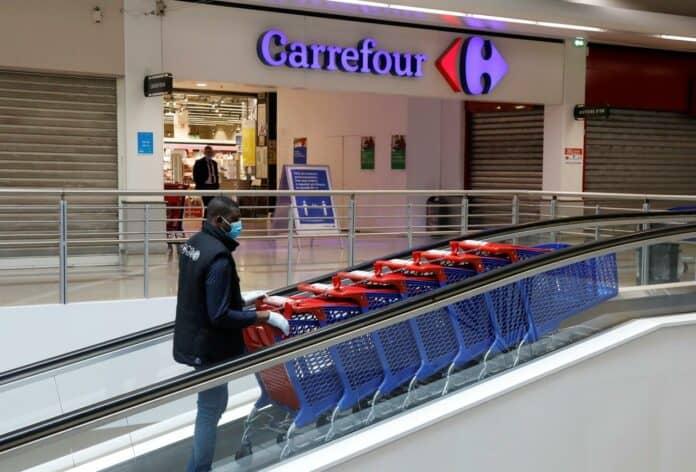 Belanja Carrefour Google Assistant