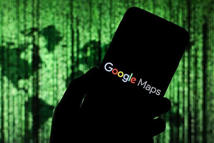 Google Maps Pembatasan Perjalanan