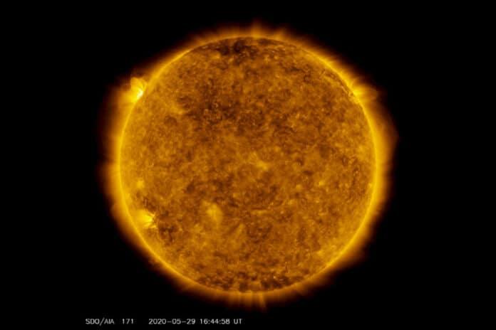 bintik matahari baru