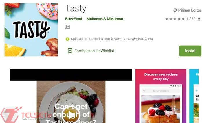 aplikasi menu makanan