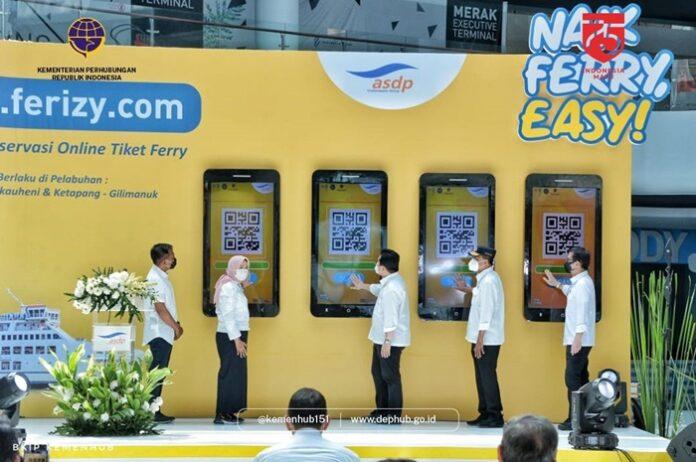 Aplikasi Tiket Online Ferry Kemenhub