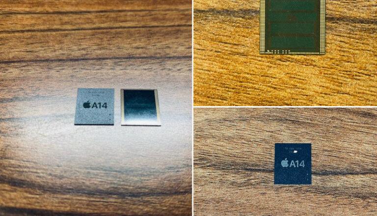 Komponen Chip A14 untuk iPhone 12 Nongol di Twitter