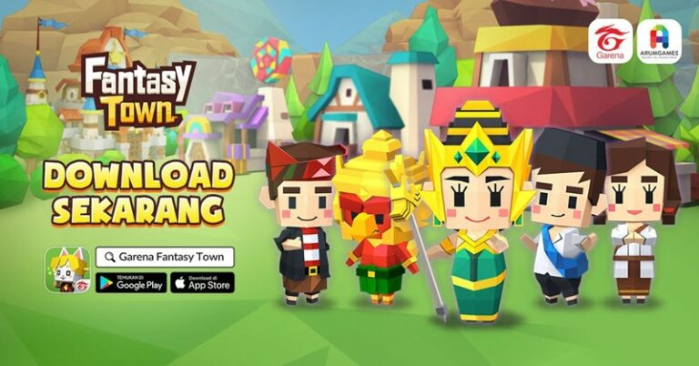 Fantasy Town, Game Simulasi Android dengan Karakter Khas Indonesia