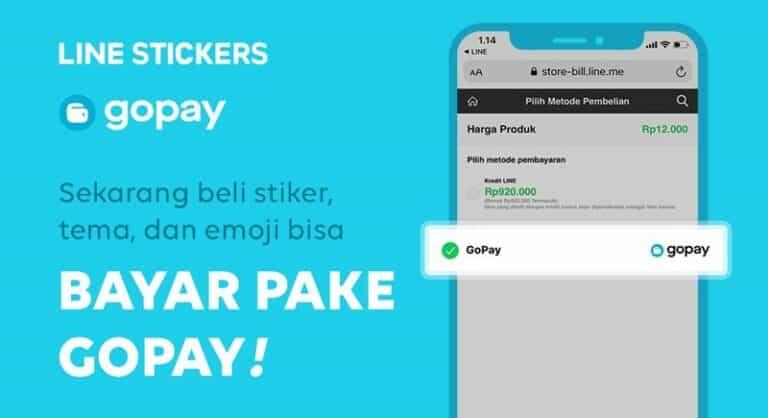 Asyik! Beli Stiker Line Terbaru Bisa Bayar via Gopay