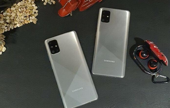 Galaxy A51 dan A71 warna baru