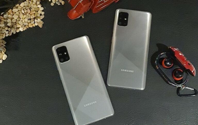 Galaxy A51 dan A71 Punya Warna Baru dan Fitur Premium