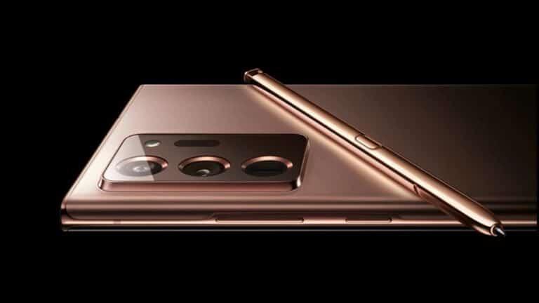 Mewahnya Samsung Galaxy Note 20 Ultra dengan Warna 'Mystic Bronze'