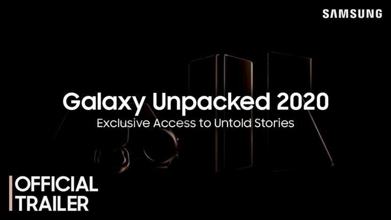 Ini 5 Produk Samsung yang Diperkenalkan di Galaxy Unpacked 2020
