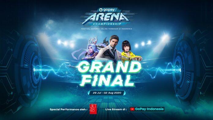 Final Gopay Arena Championship