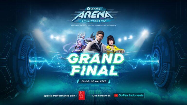 Siap-siap! Grand Final Gopay Arena Championship Siap Digelar