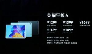 Harga dan Spesifikasi Honor Tablet 6