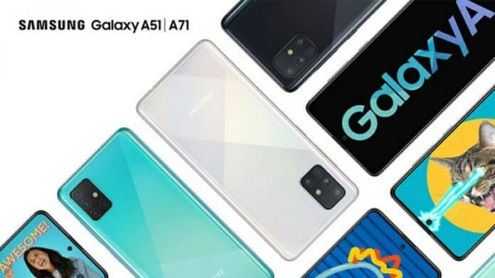 Update OS Samsung Galaxy A51