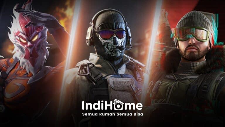 IndiHome Paket Gamers Jamin Main Game Online Tanpa Lag