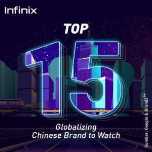 Infinix Top 15 Brand Chinses to Watch