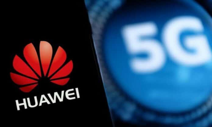 Jaringan Huawei 5G Inggris