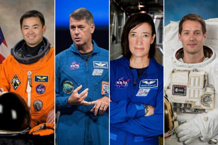 Astronot NASA Terbang ke ISS