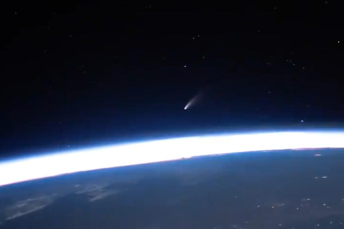 video komet Neowise