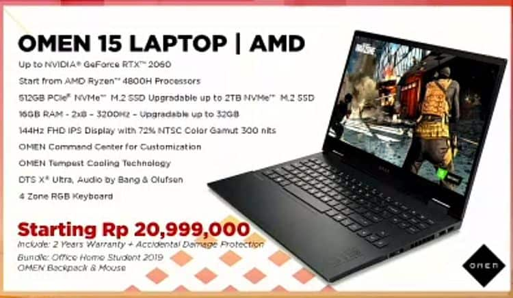 OMEN 15 Laptop By HP 2020 (2)