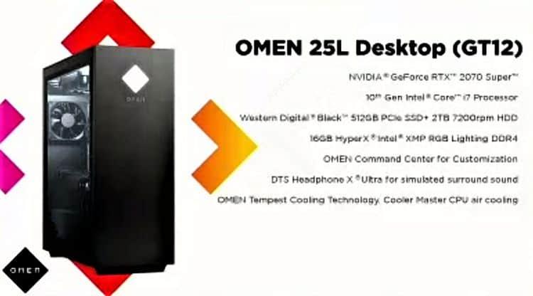 OMEL 25L Desktop Spesifikasi
