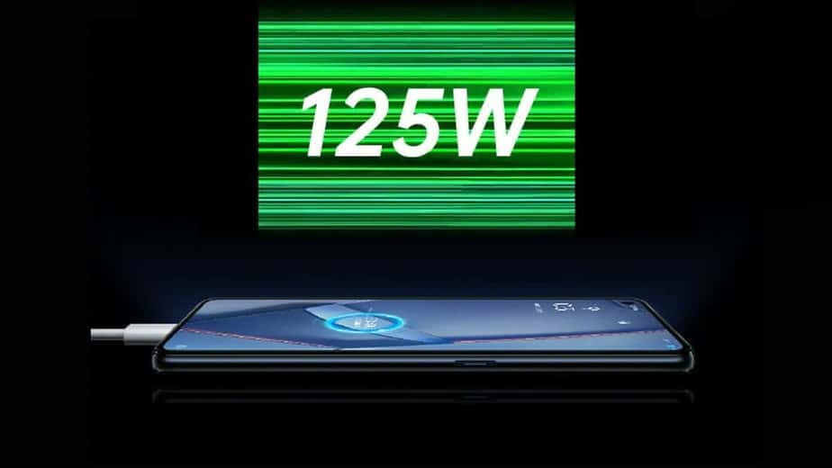 Oppo Fast Charging 125W
