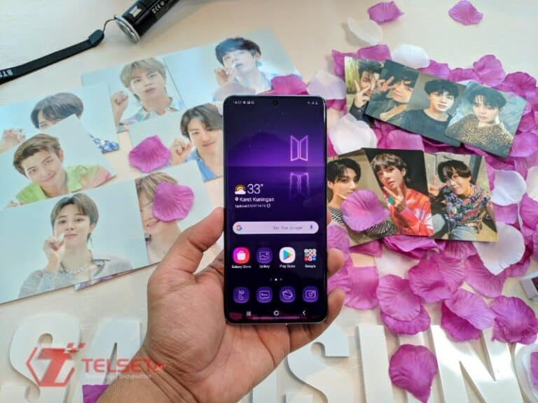 ARMY! Yuk, Intip Lebih Dekat Samsung Galaxy S20+ BTS Edition