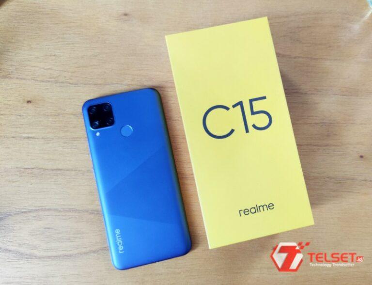 Realme C15: Spesifikasi 'Siap Tempur' dengan Baterai 6.000 mAh