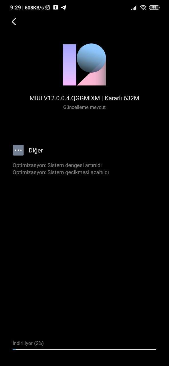 Redmi Note 8 Pro Update MIUI 12
