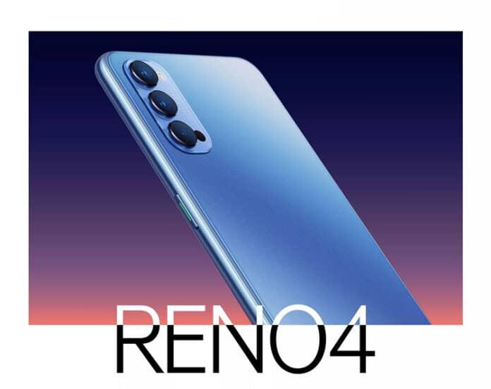 Desain Oppo Reno4 Indonesia