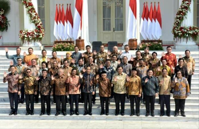 Bocoran Kabinet baru Jokowi