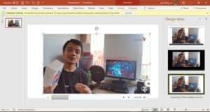 record screen di PC windows dengan powerpoint