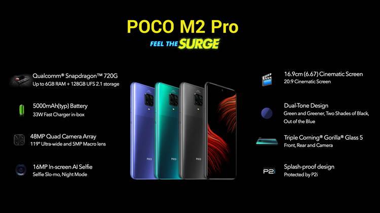 Spesifikasi Poco M2 Pro