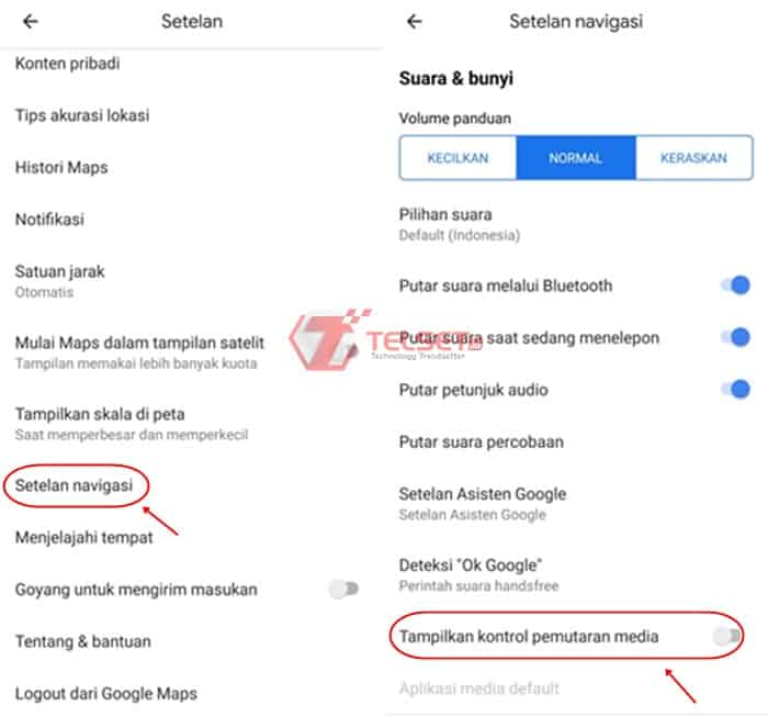 Cara Lagu Spotify Google Maps
