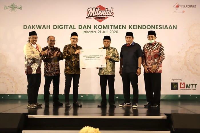 Inisiatif Telkomsel dan NU untuk Jaga Keindonesiaan dan Kerohanian