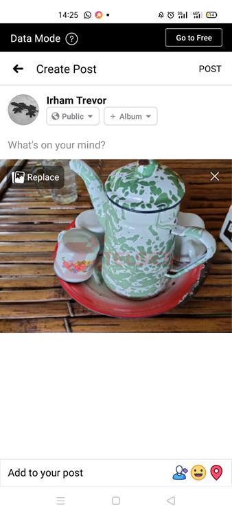 Cara Foto 3D Facebook