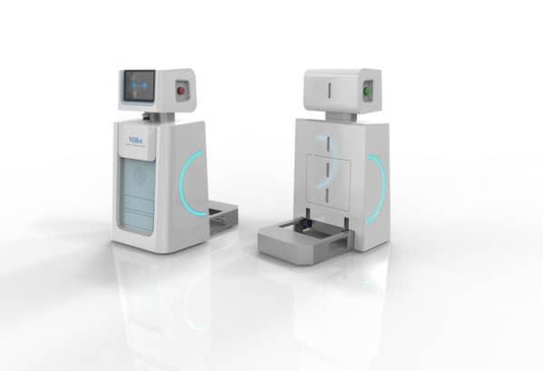 Robot AI Cegah Corona