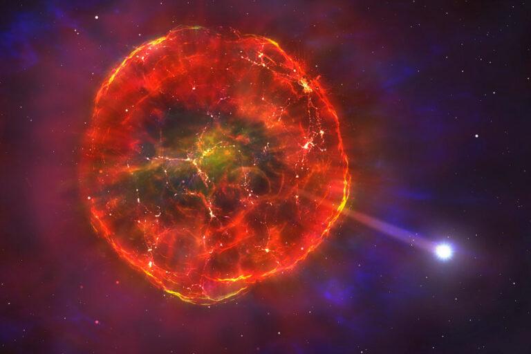 """Ledakan Termonuklir """"Lemparkan"""" Bintang ke Bima Sakti"""