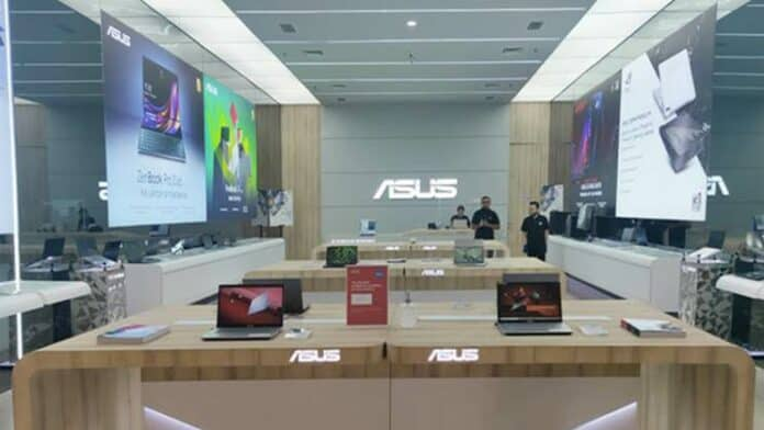 Asus store mall Indonesia